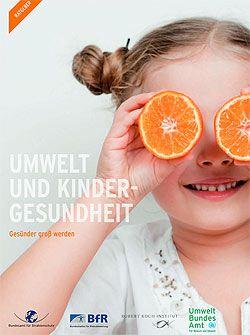 """Broschüre """"Umwelt und Kindergesundheit"""" © Umweltbundesamt."""